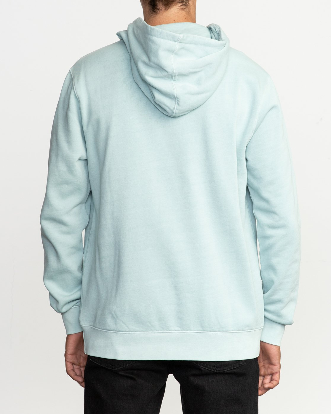 3 Little RVCA Tonally Hoodie Blue M628TRLI RVCA