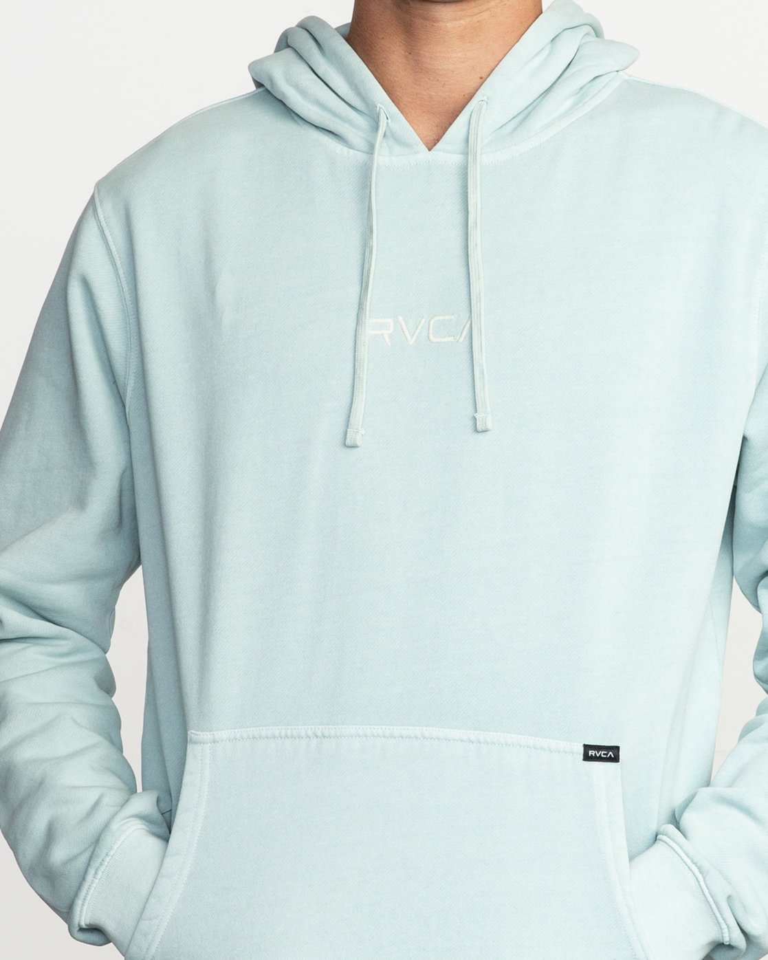 4 Little RVCA Tonally Hoodie Blue M628TRLI RVCA