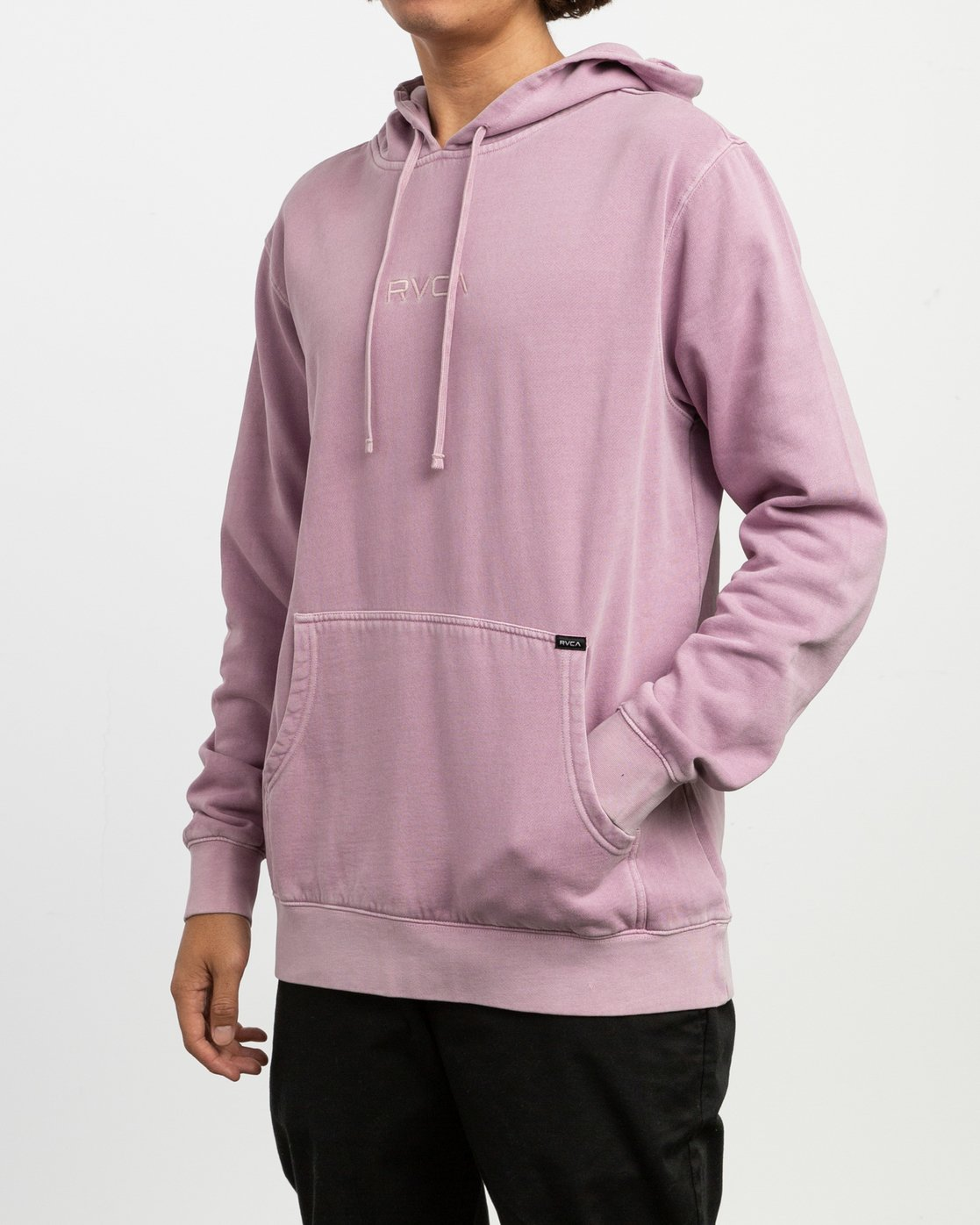 3 Little RVCA Tonally Hoodie Purple M628TRLI RVCA