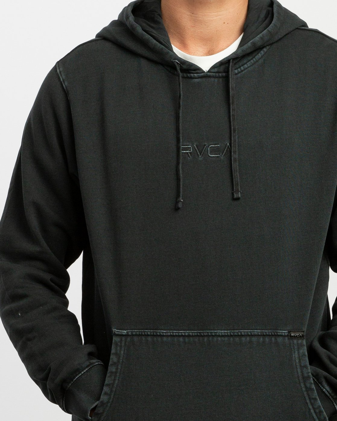 5 Little RVCA Tonally Hoodie Black M628TRLI RVCA