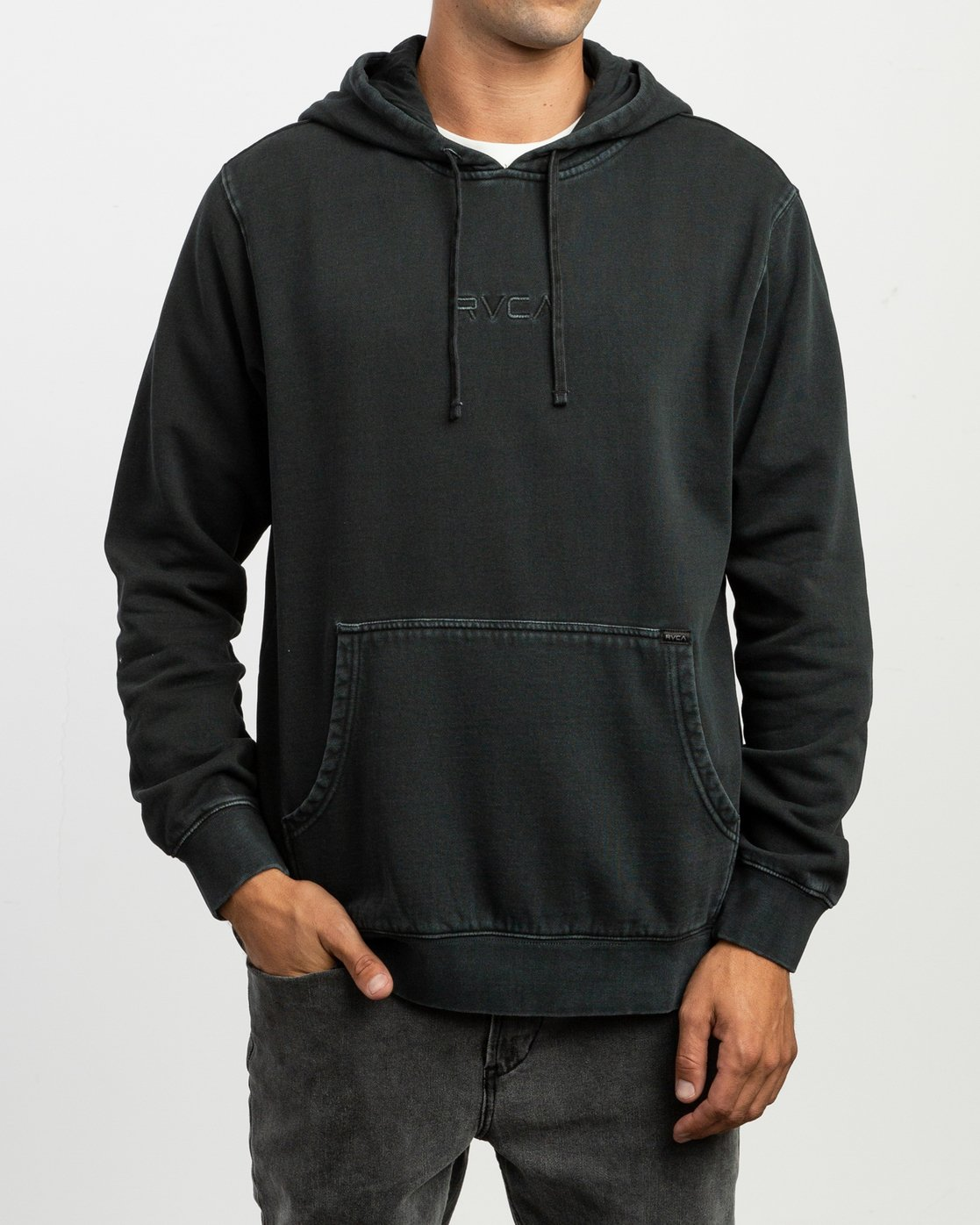 2 Little RVCA Tonally Hoodie Black M628TRLI RVCA