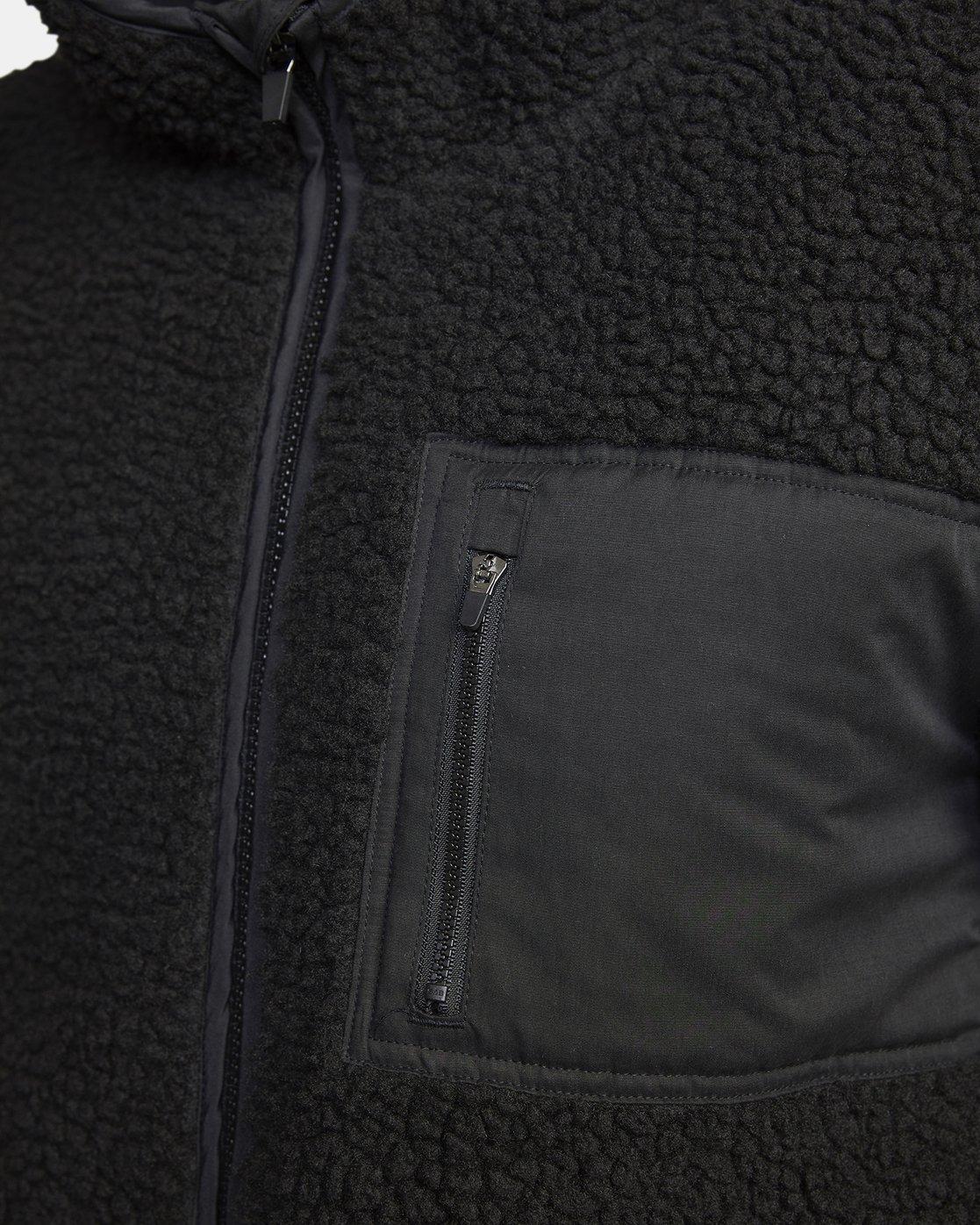 5 Knoll Sherpa Jacket Black M691WRKN RVCA