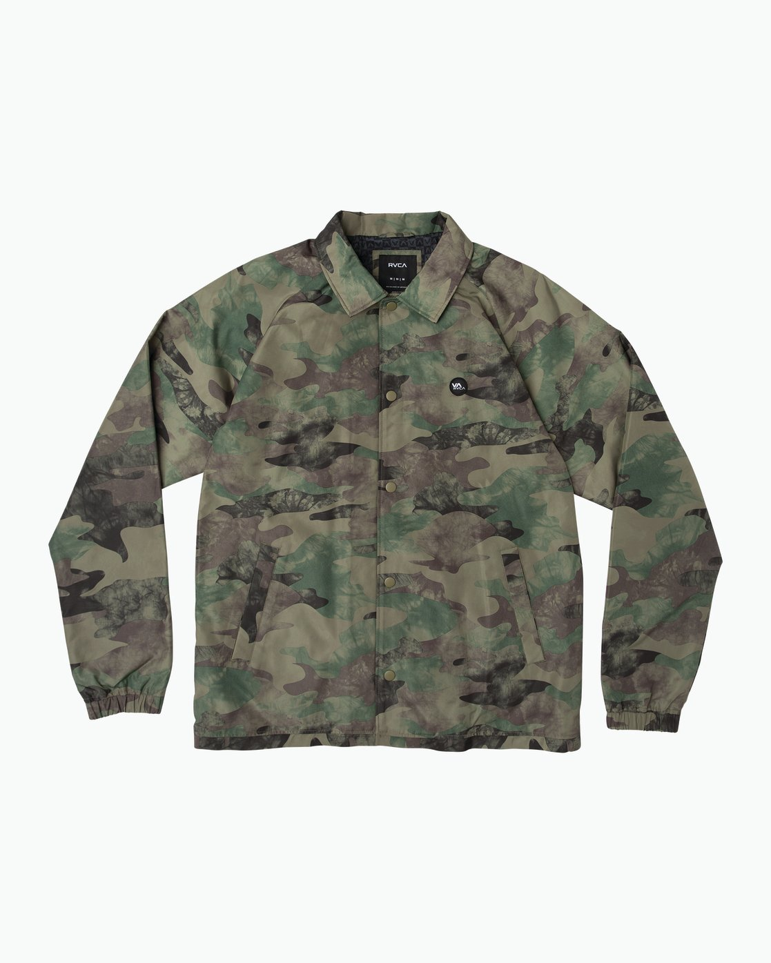 0 ATW II Coaches Jacket Green M701QRAT RVCA