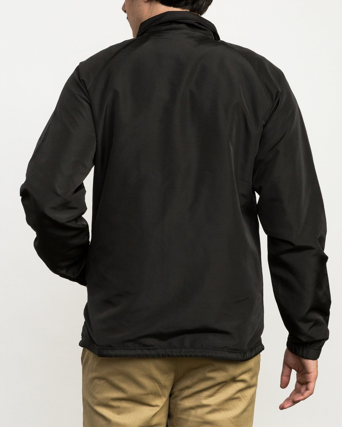 4 ATW II Coaches Jacket Black M701QRAT RVCA