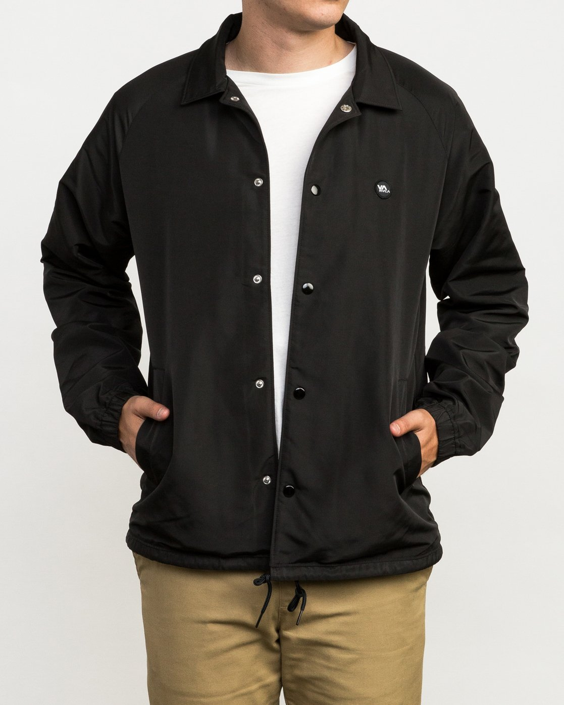 1 ATW II Coaches Jacket Black M701QRAT RVCA