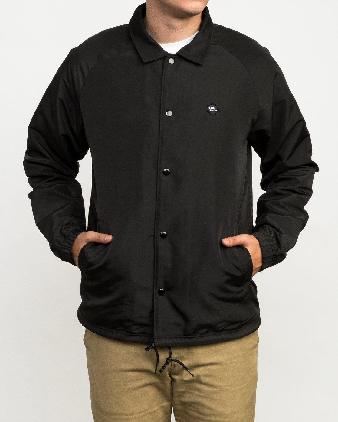 2 ATW II Coaches Jacket Black M701QRAT RVCA