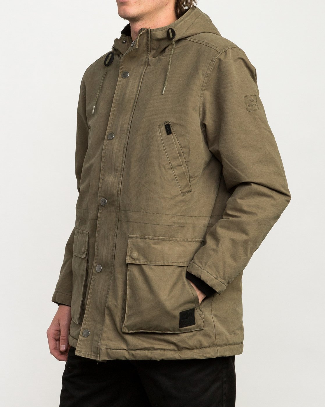 3 Ground Control II Jacket Green M701QRGC RVCA