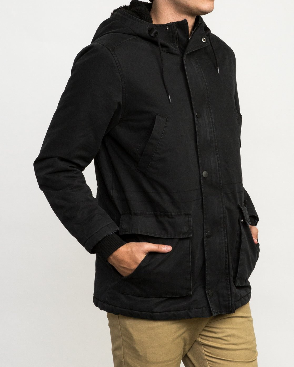 4 Ground Control II Jacket Black M701QRGC RVCA