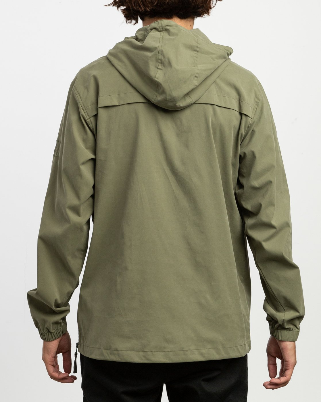 3 On Point Anorak Jacket Green M701TROP RVCA