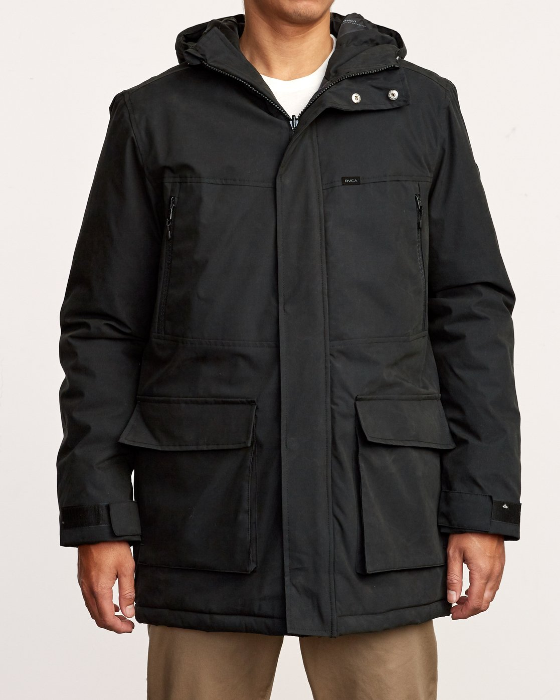 2 Patrol Parka Jacket Orange M701VRPA RVCA