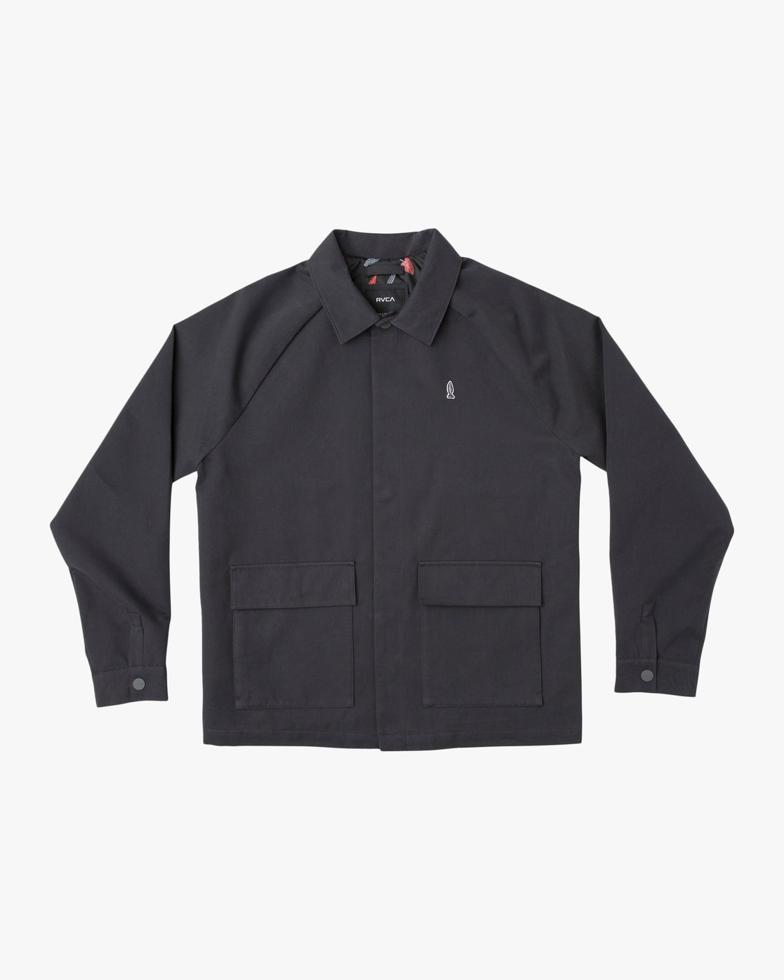 0 Tom Gerrard Waist Cut Jacket Black M702TRGE RVCA