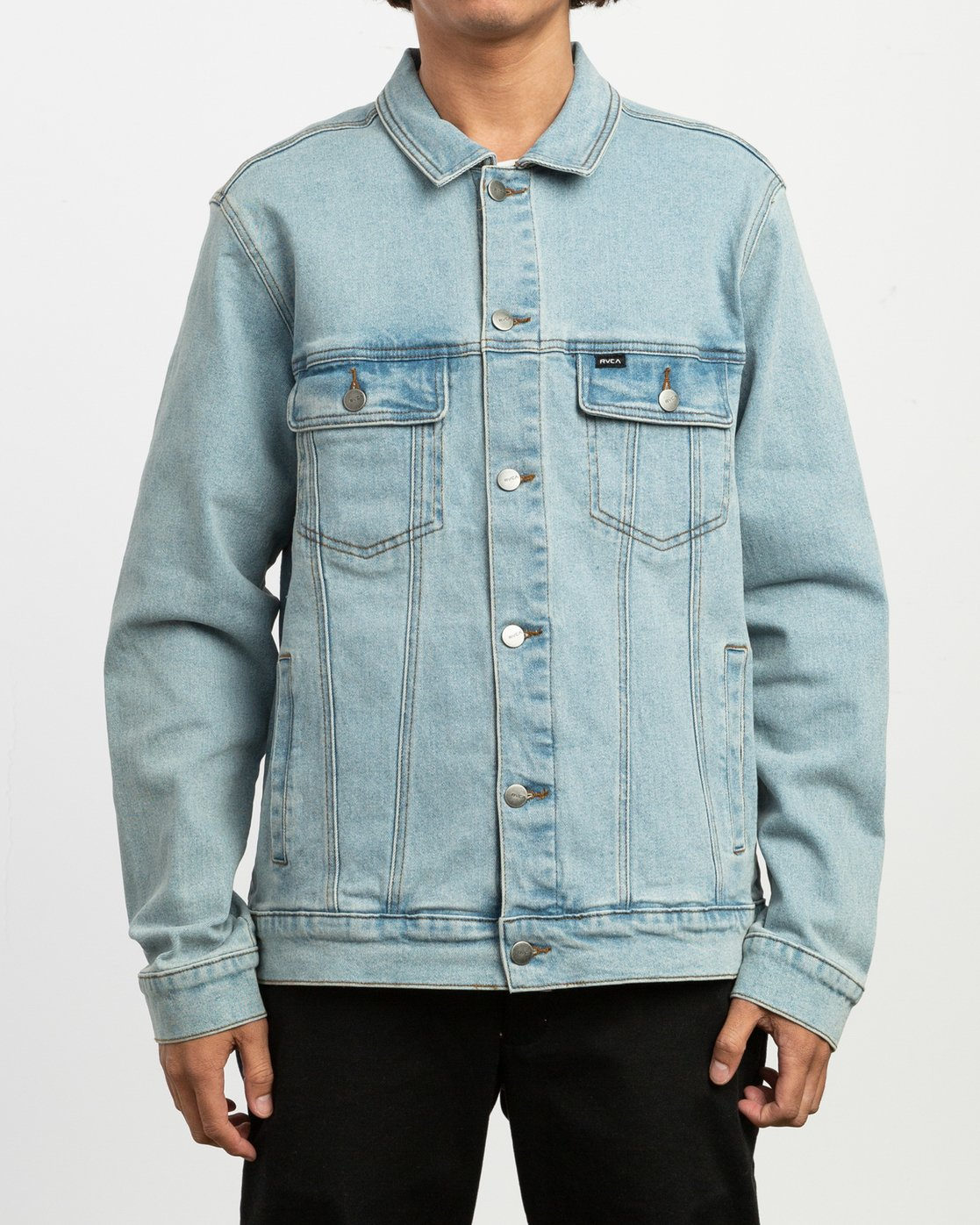2 Daggers Denim Jacket Blue M704TRDO RVCA
