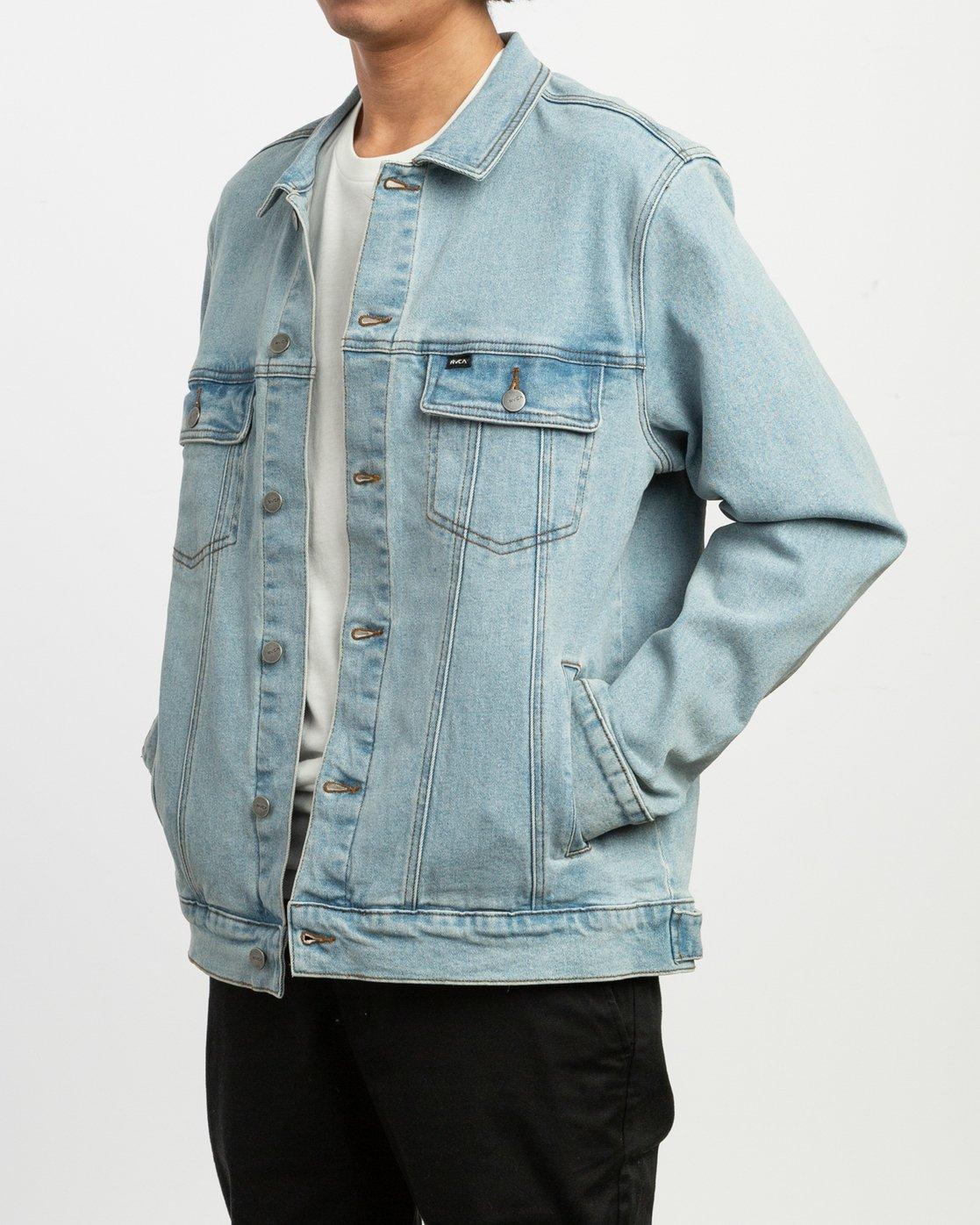 3 Daggers Denim Jacket Blue M704TRDO RVCA