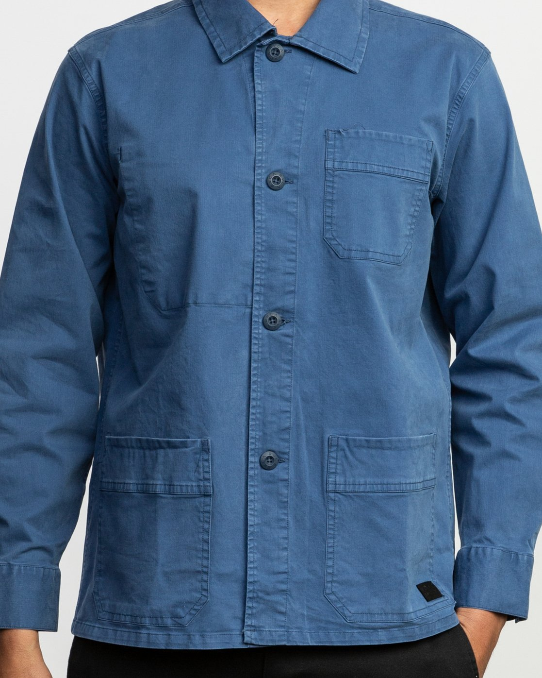 4 Couleur Chore Coat Shirt Blue M705TRCC RVCA