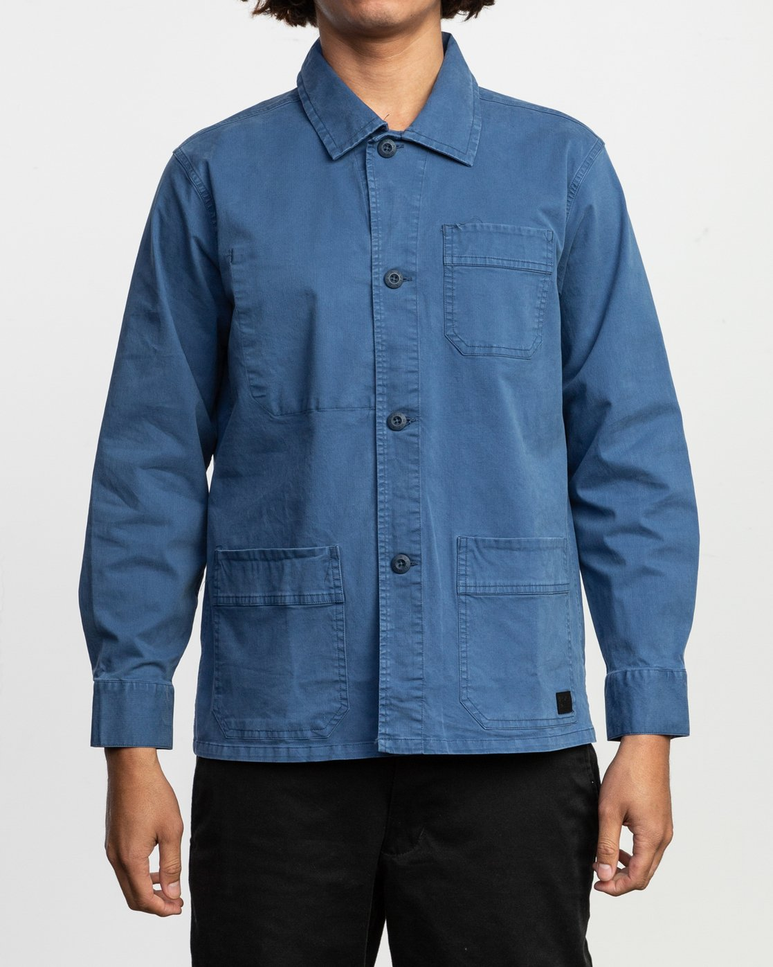 1 Couleur Chore Coat Shirt Blue M705TRCC RVCA