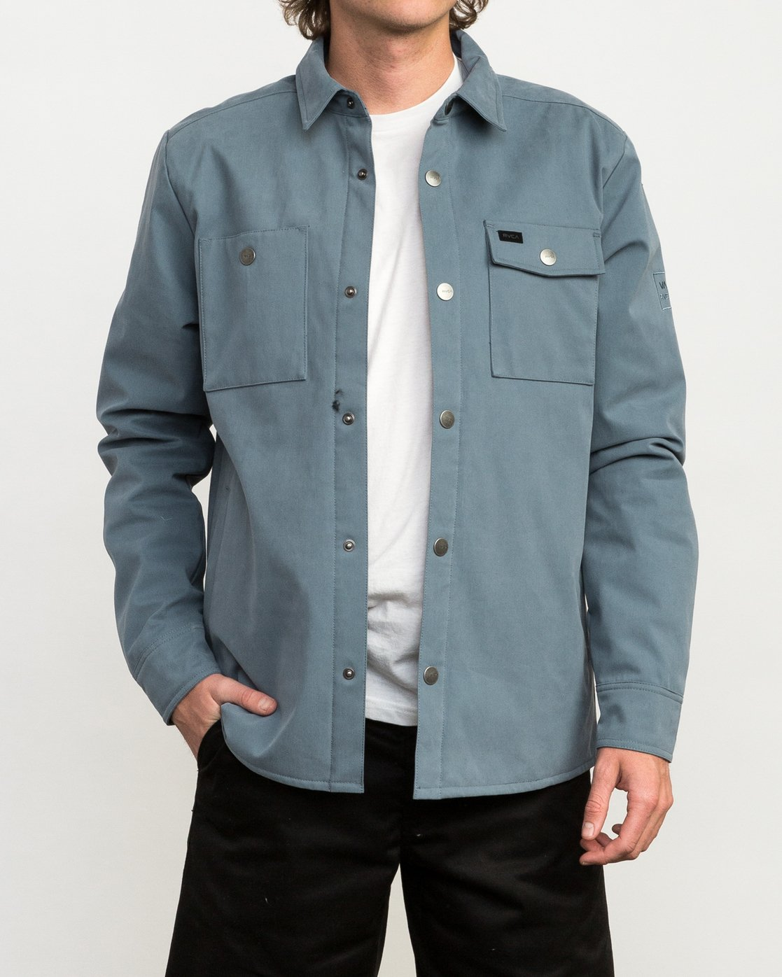 big collection classic style cheap Utility Shirt Jacket M708QRUS | RVCA