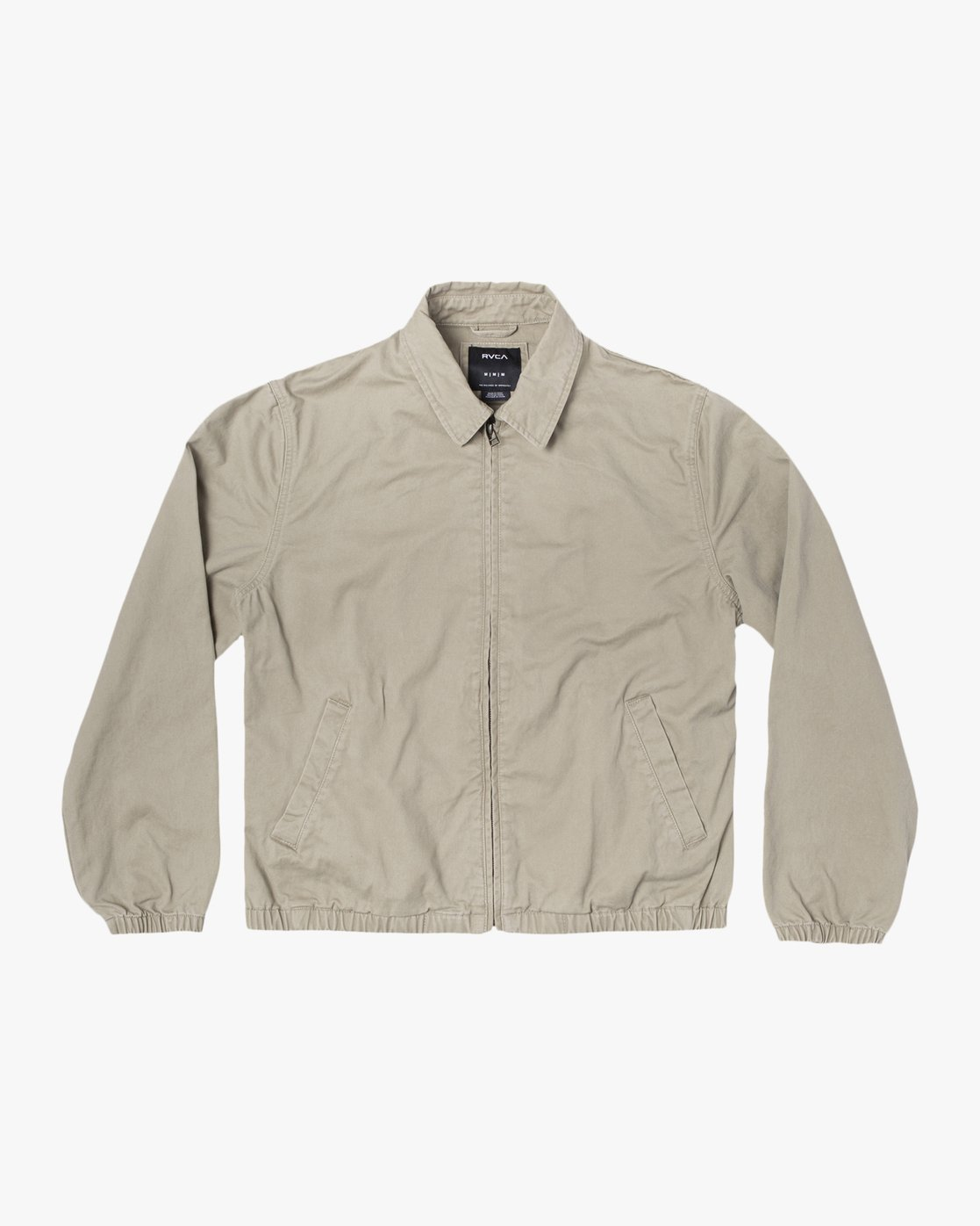 0 Piston Jacket Beige M7093RPI RVCA