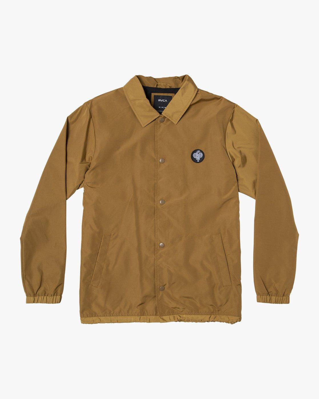 0 Berni Coaches Jacket  M721VRBE RVCA