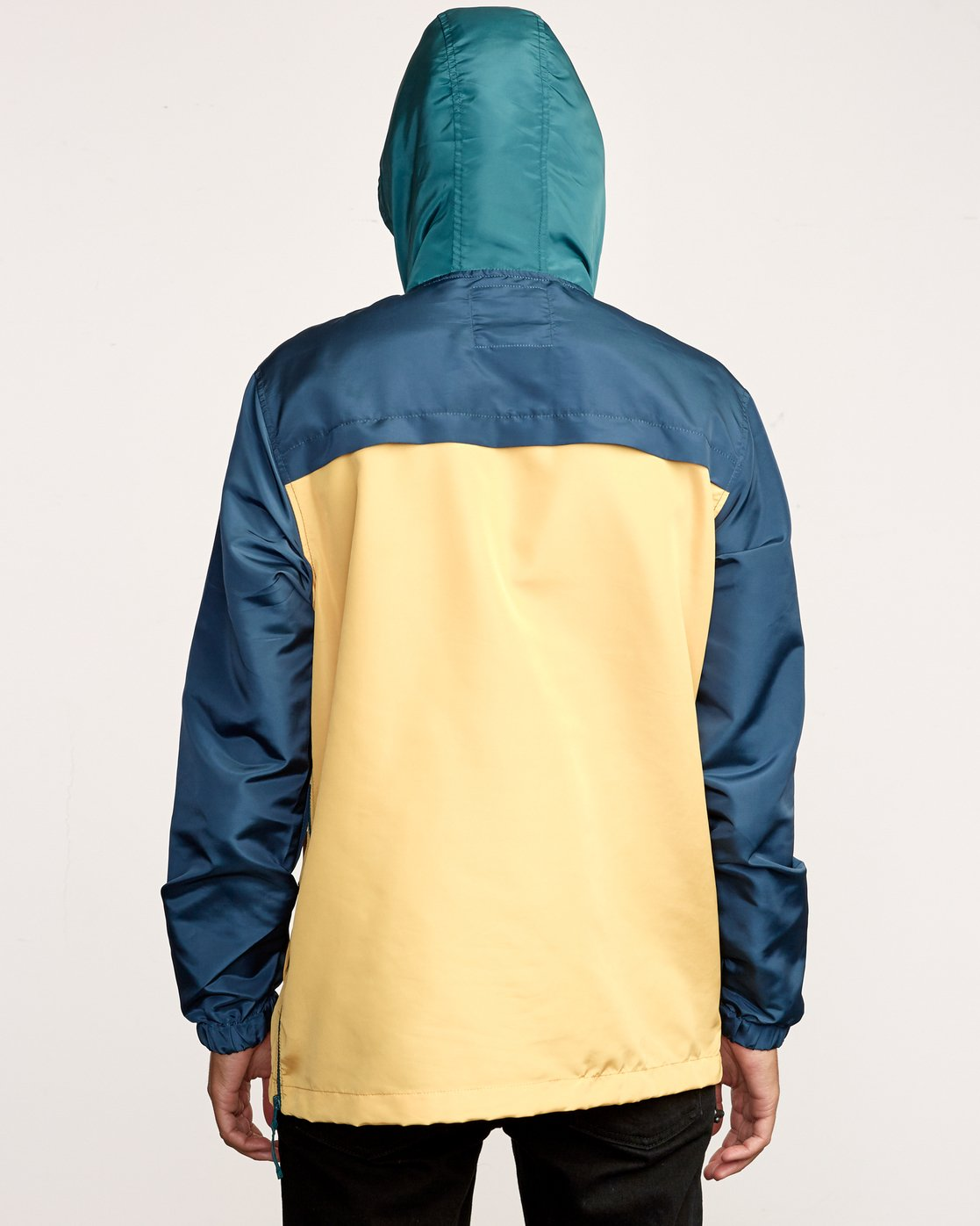 3 Killer Anorak Jacket Grey M722VRKI RVCA