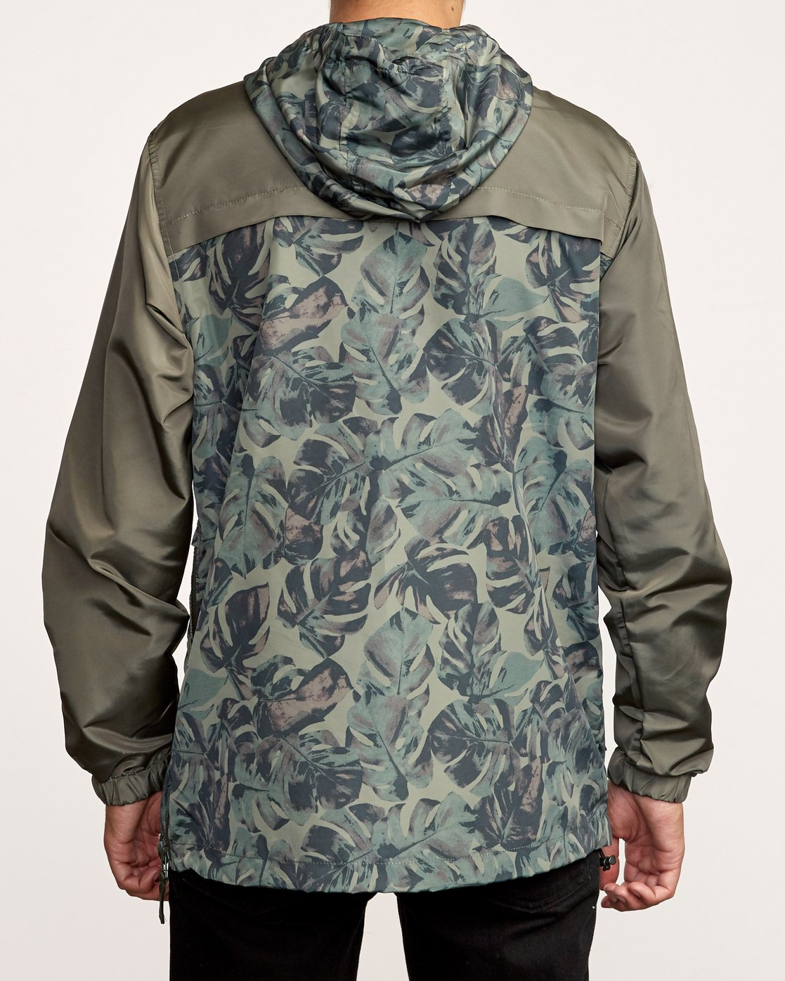 2 Killer Anorak Jacket Green M722VRKI RVCA