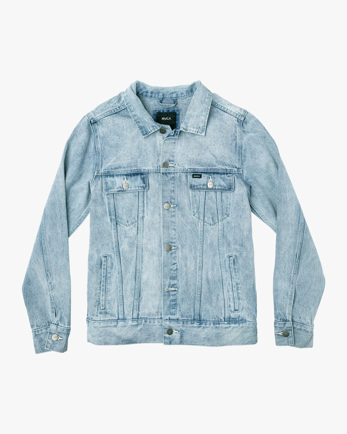 0 Daggers Denim Jacket White M725VRDA RVCA
