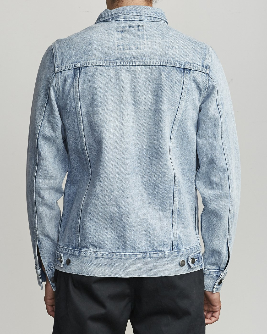 5 Daggers Denim Jacket White M725VRDA RVCA