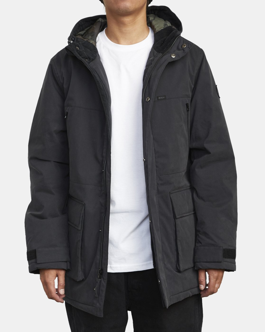 1 PATROL PARKA 2 JACKET Orange M7283RPA RVCA