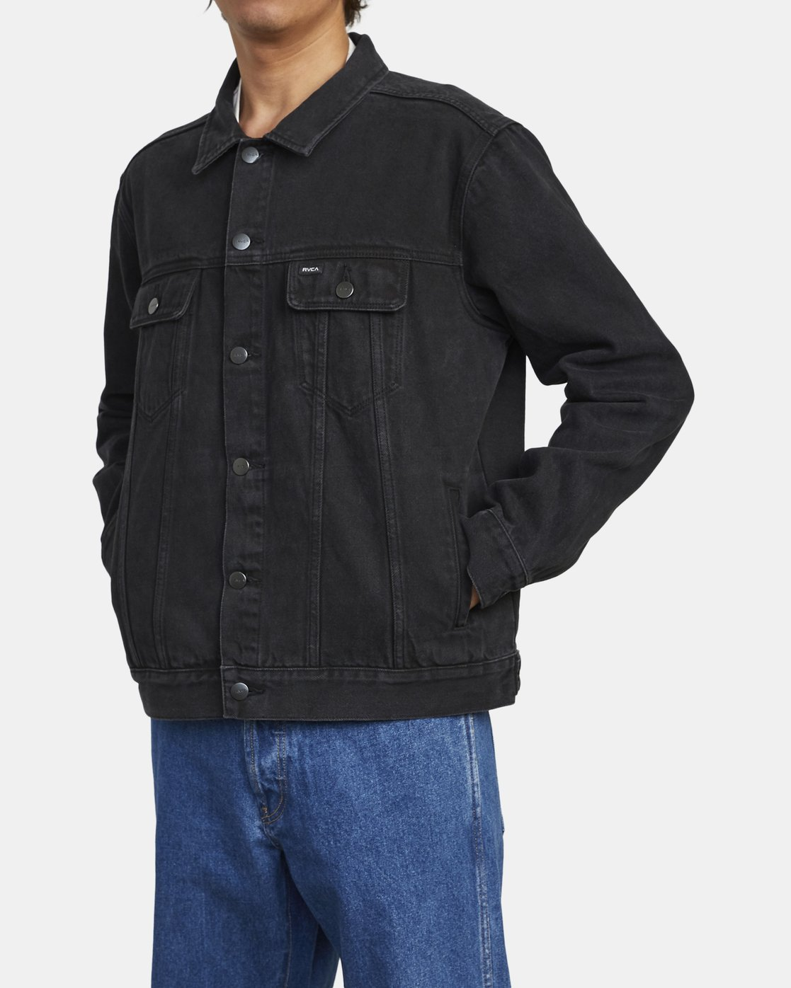 2 AMERICANA DENIM JACKET Black M7303RDJ RVCA