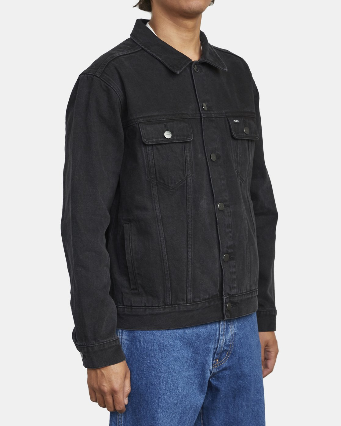 3 AMERICANA DENIM JACKET Black M7303RDJ RVCA