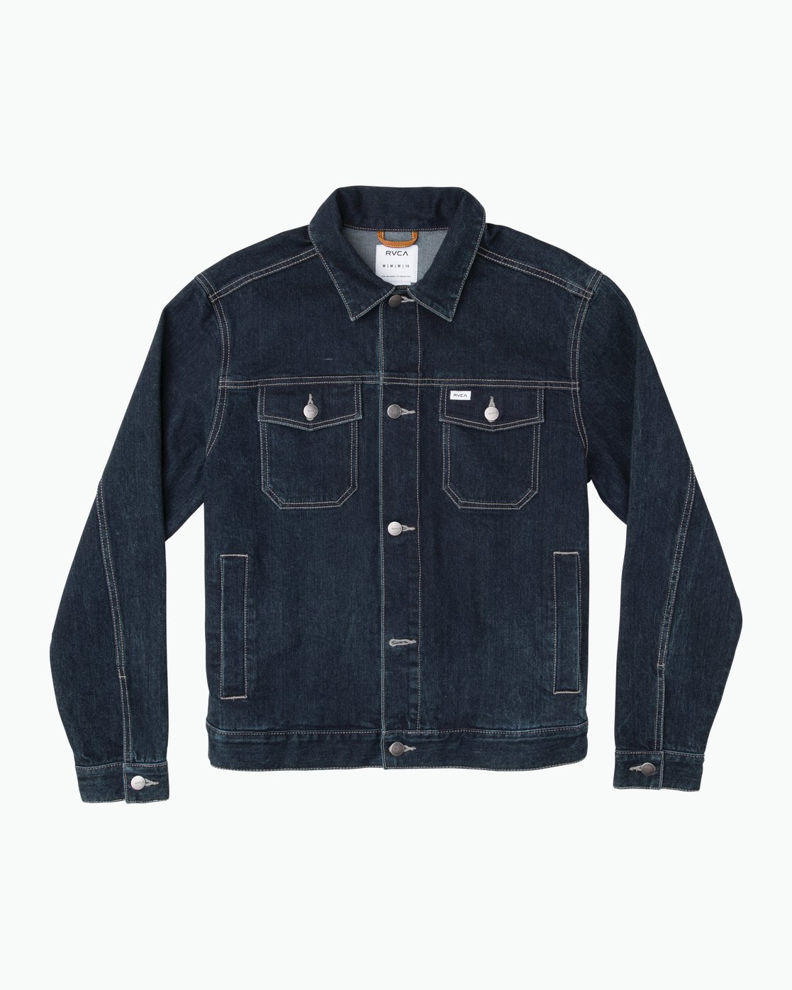 0 Chipper Neutral Denim Jacket Blue M750QRCJ RVCA
