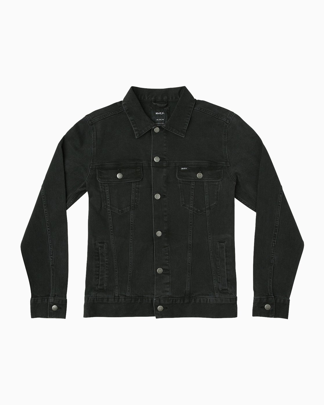 0 Daggers Denim Jacket Black M780NRDJ RVCA