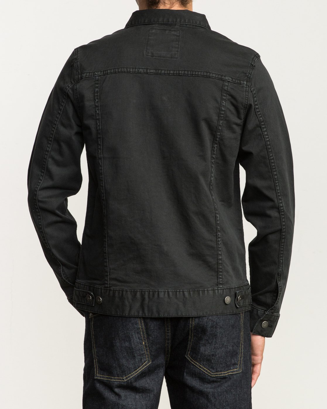 4 Daggers Denim Jacket Black M780NRDJ RVCA