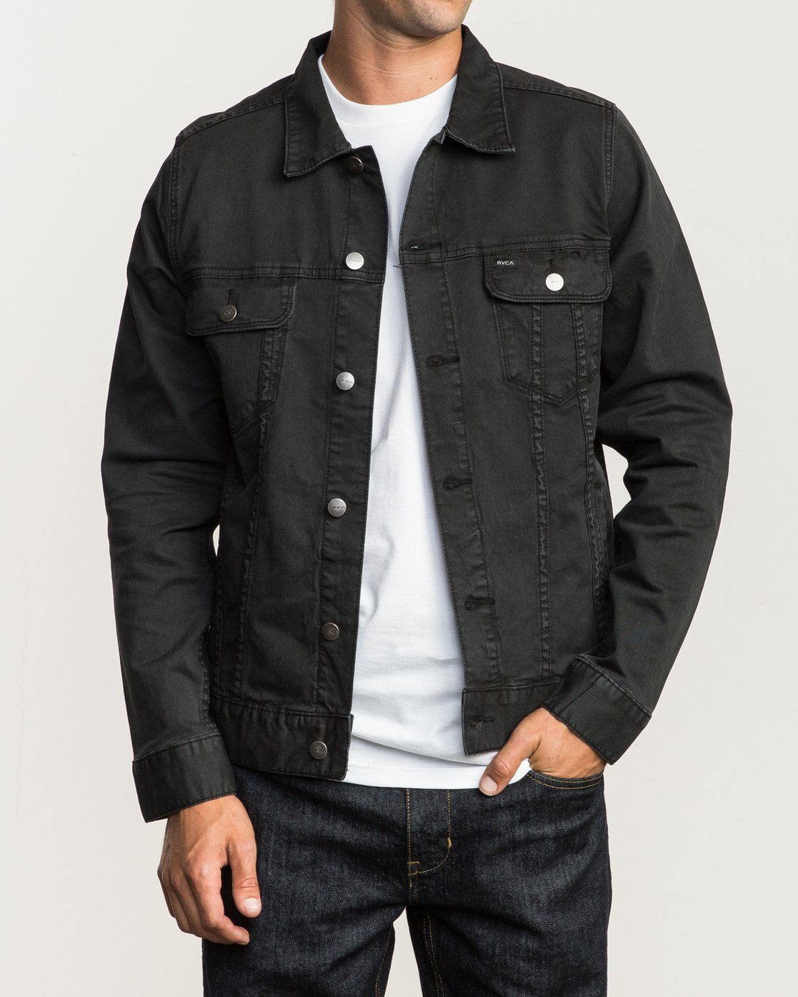 1 Daggers Denim Jacket  M780NRDJ RVCA