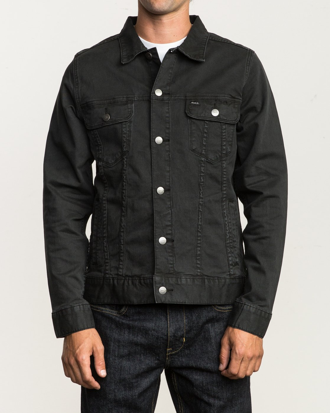 2 Daggers Denim Jacket  M780NRDJ RVCA