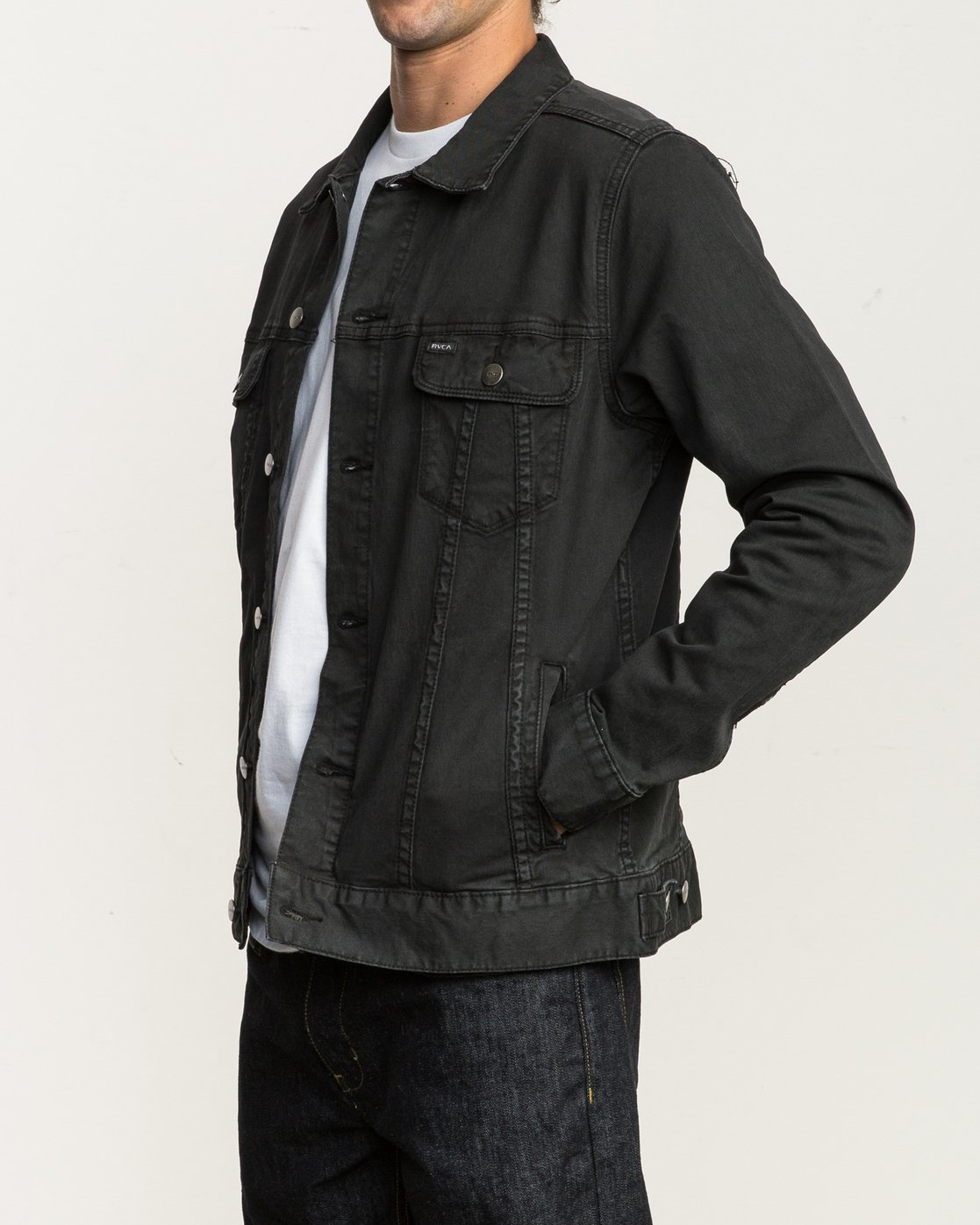 3 Daggers Denim Jacket  M780NRDJ RVCA