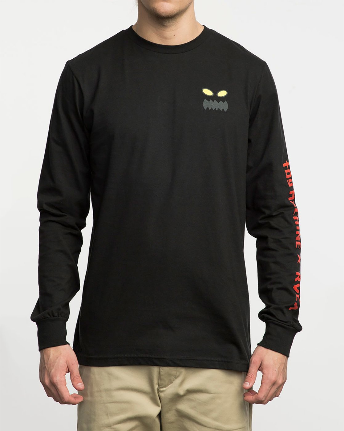 1 Toy Machine Long Sleeve T-Shirt  M800M01T RVCA