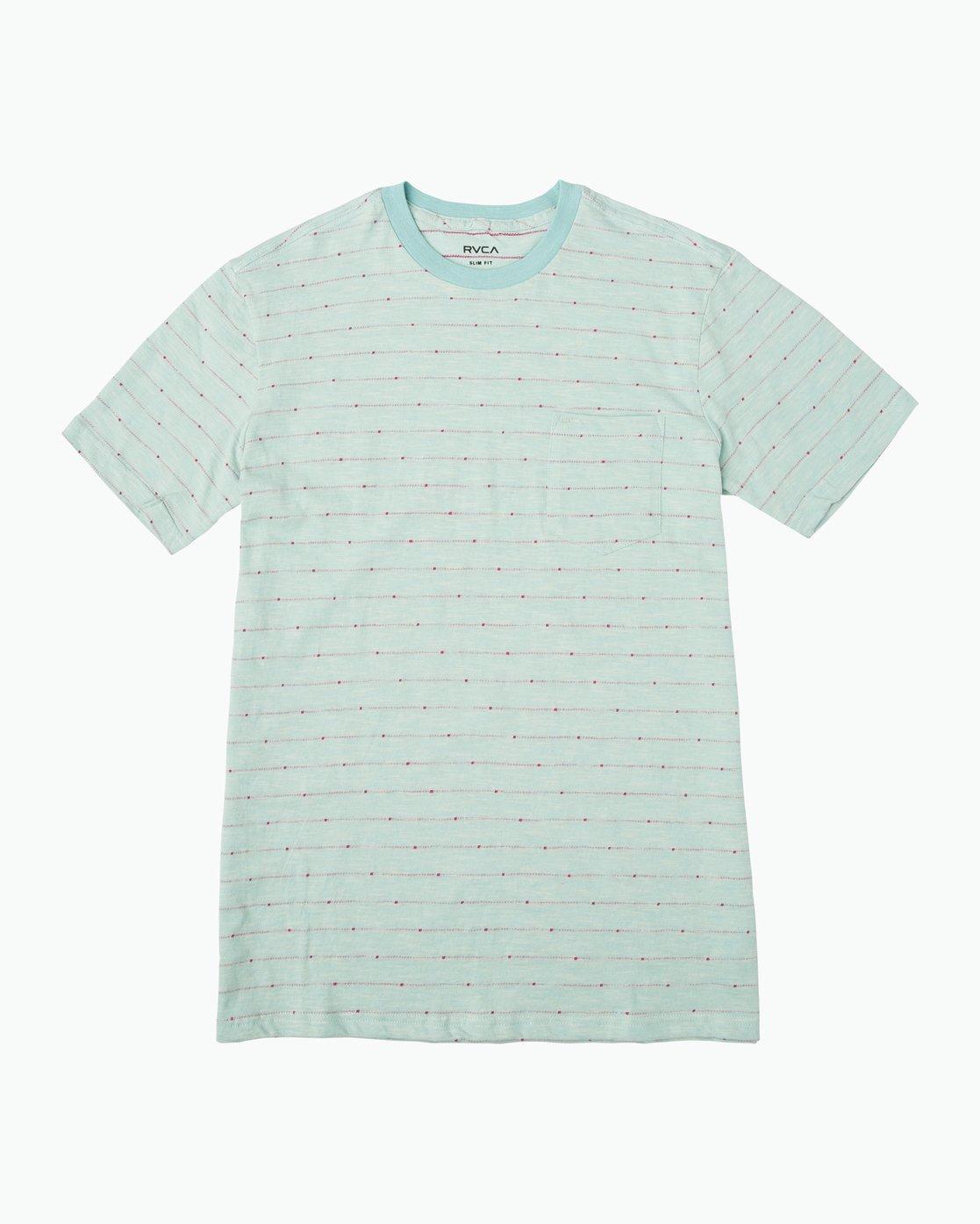 4c449bb4730 0 Double Dip Striped Knit Shirt Black M902PRDD RVCA