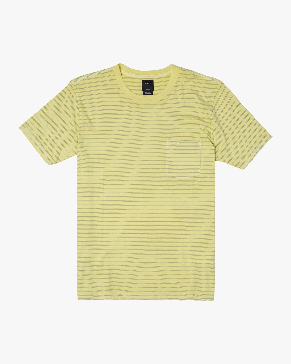 0 PTC STRIPED KNIT SHIRT Yellow M9031RPP RVCA