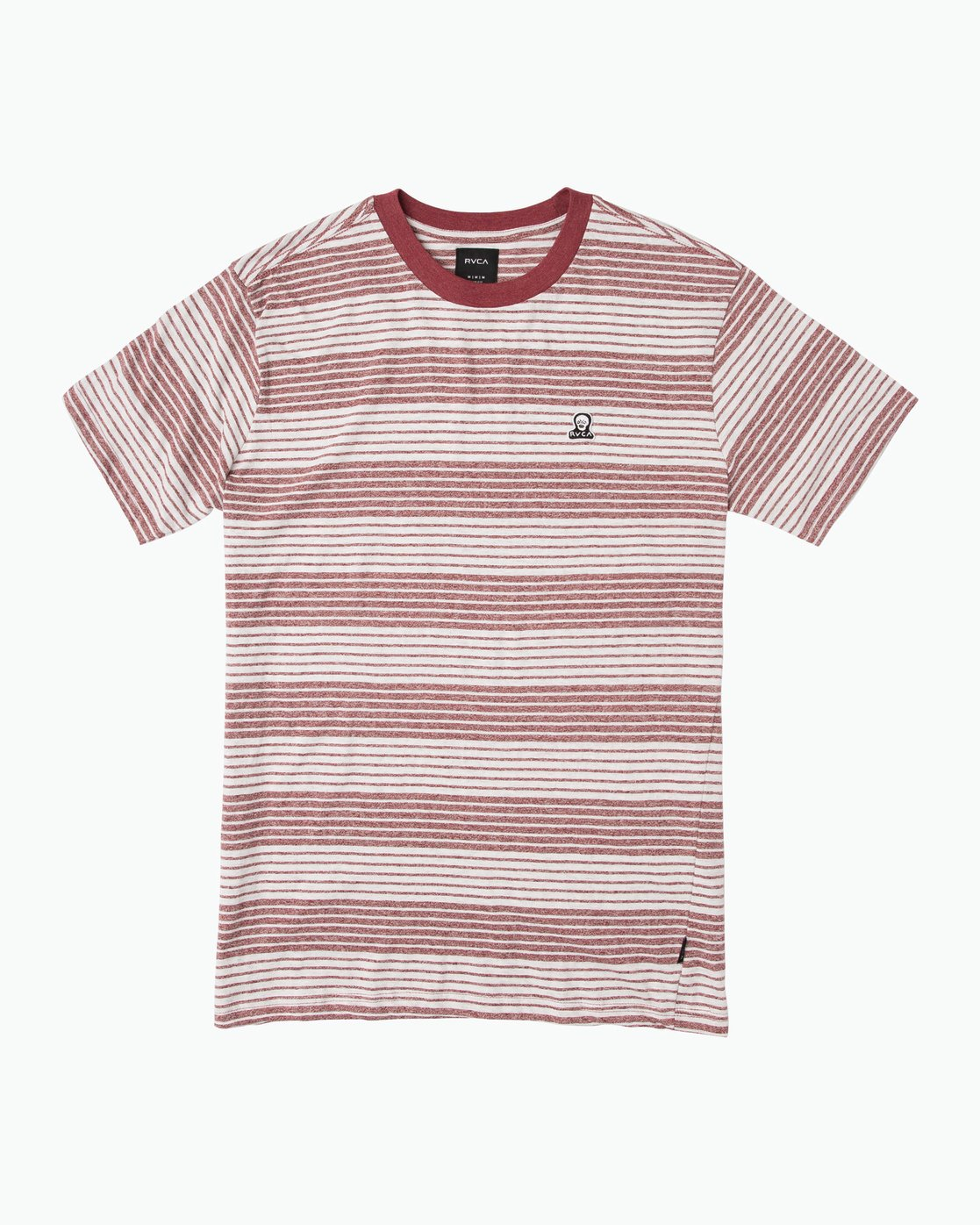 0 Longsight Striped T-Shirt Red M904SRLS RVCA