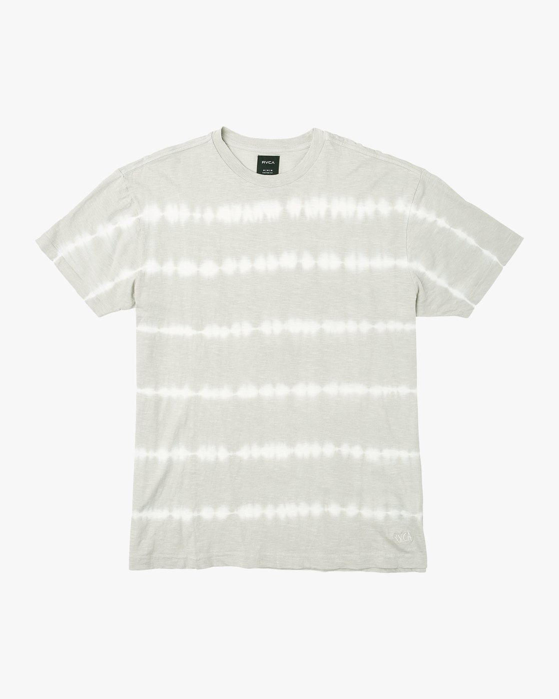0 Rail Stripe Knit T-Shirt Silver M905VRRS RVCA