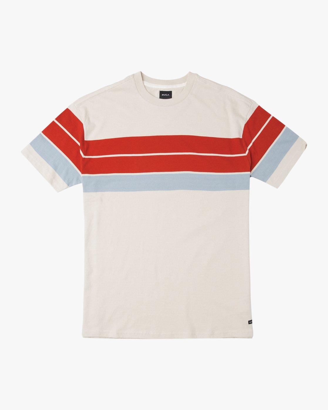 0 Payno Knit T-Shirt Silver M906TRPY RVCA