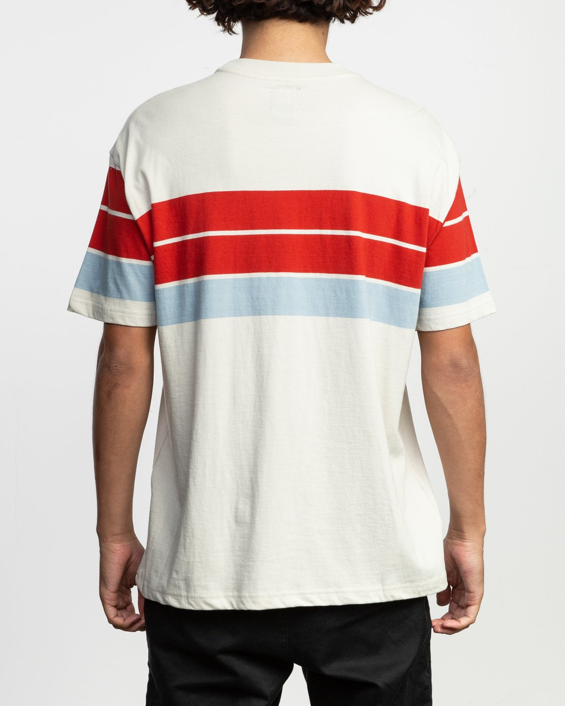 3 Payno Knit T-Shirt Silver M906TRPY RVCA