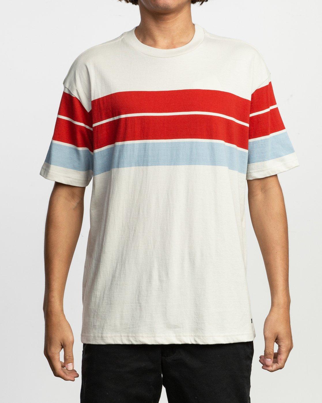 1 Payno Knit T-Shirt Silver M906TRPY RVCA
