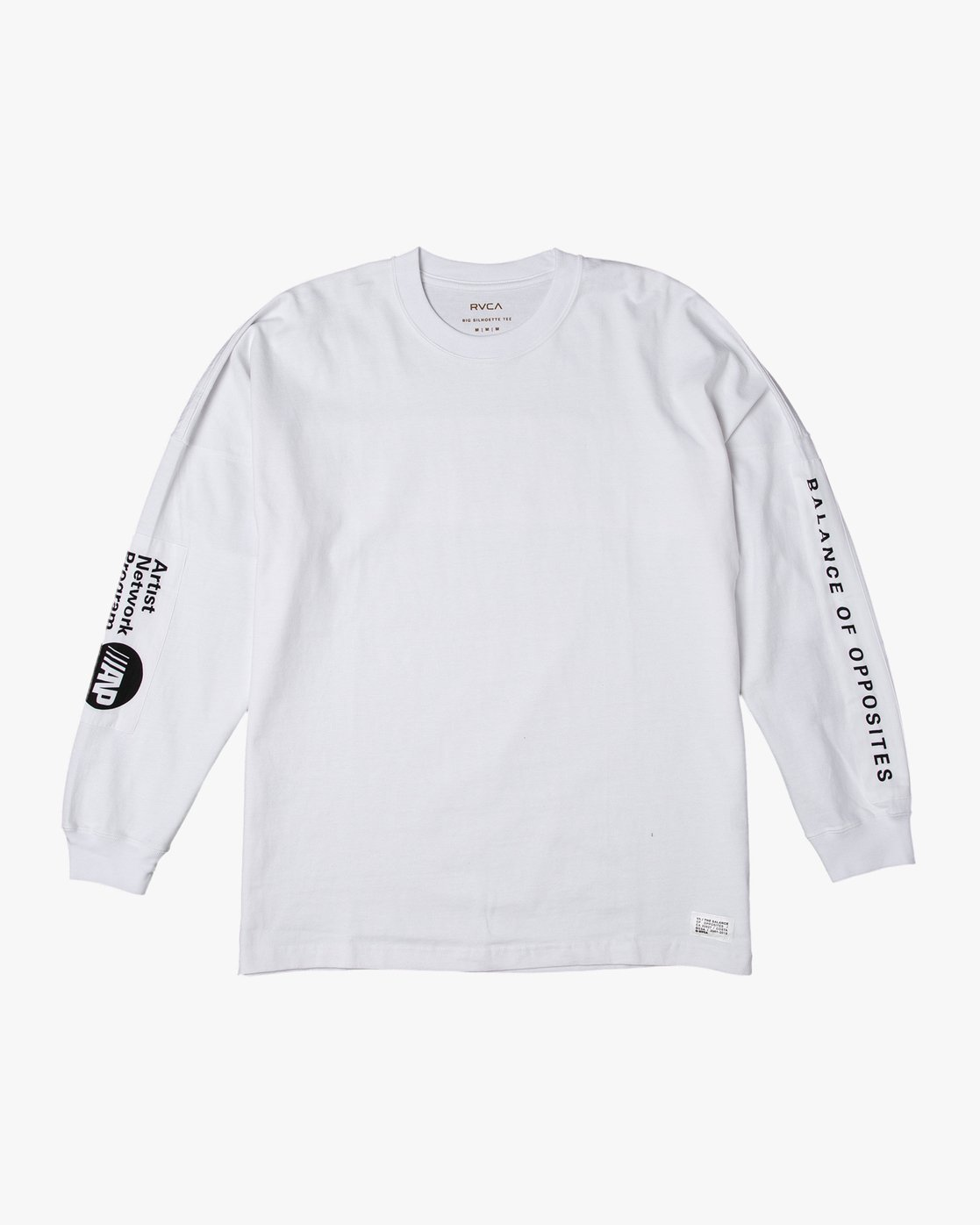 0 PATCH RVCA LS TEE White M906VRPR RVCA