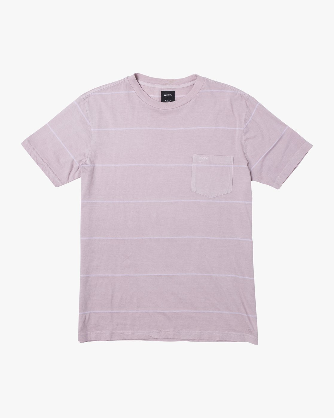 1 PTC STRIPE II SHORT SLEEVE TEE Grey M9093RPS RVCA