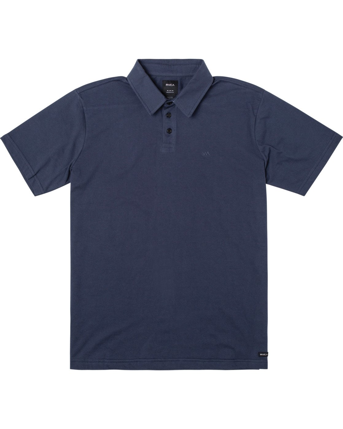 0 SURE THING III POLO SHIRT Blue M9101RST RVCA