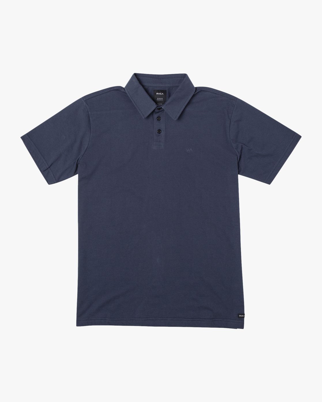 1 SURE THING III POLO SHIRT Blue M9101RST RVCA