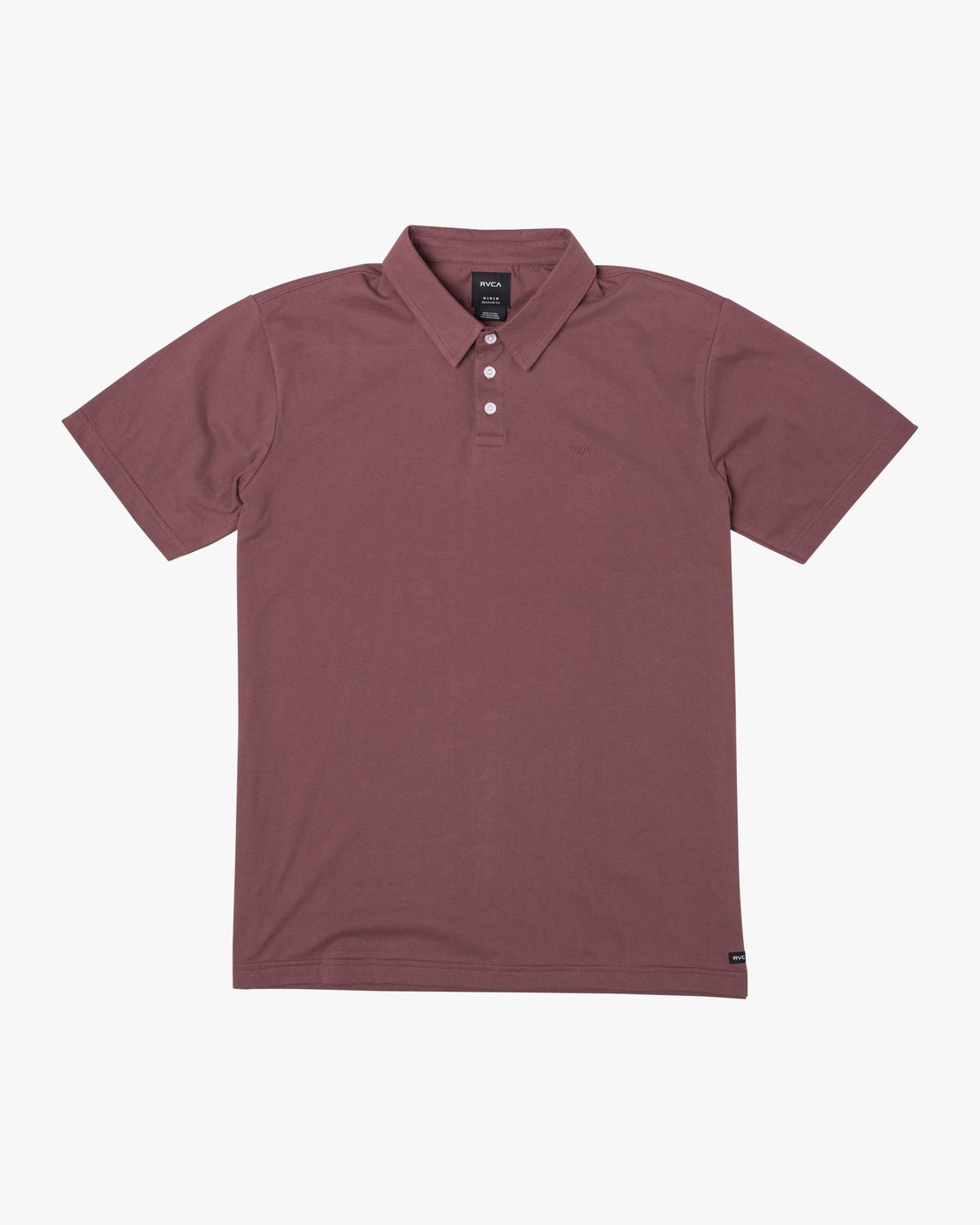 0 SURE THING III POLO SHIRT Red M9101RST RVCA