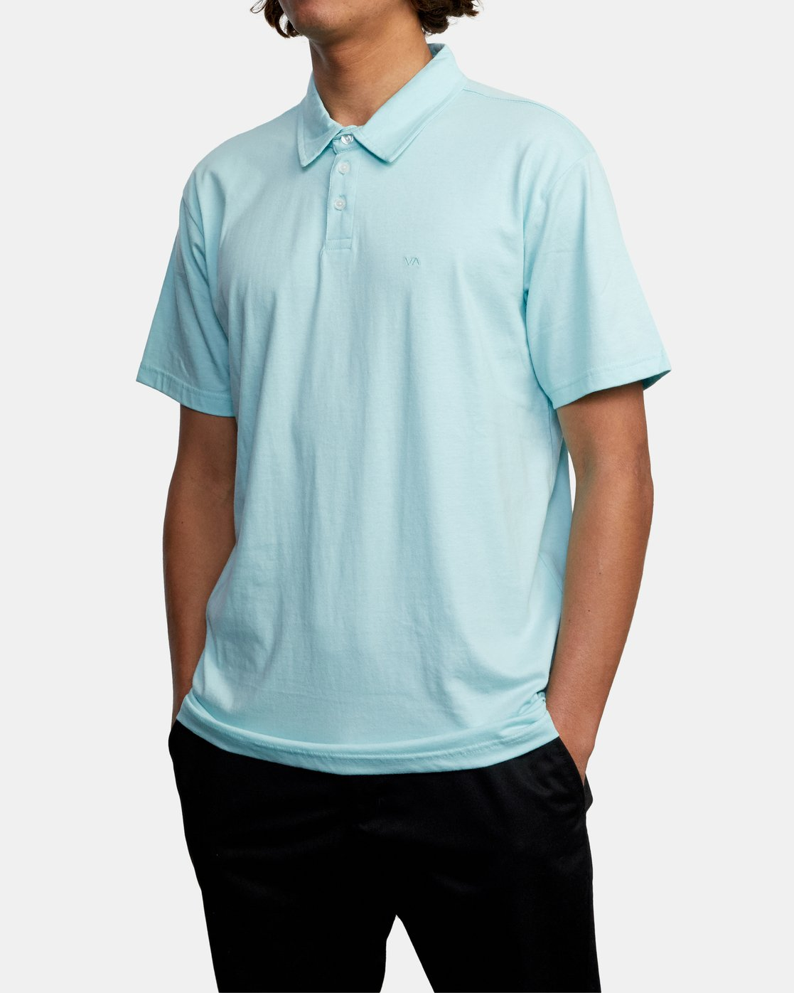 4 SURE THING III POLO SHIRT White M9101RST RVCA