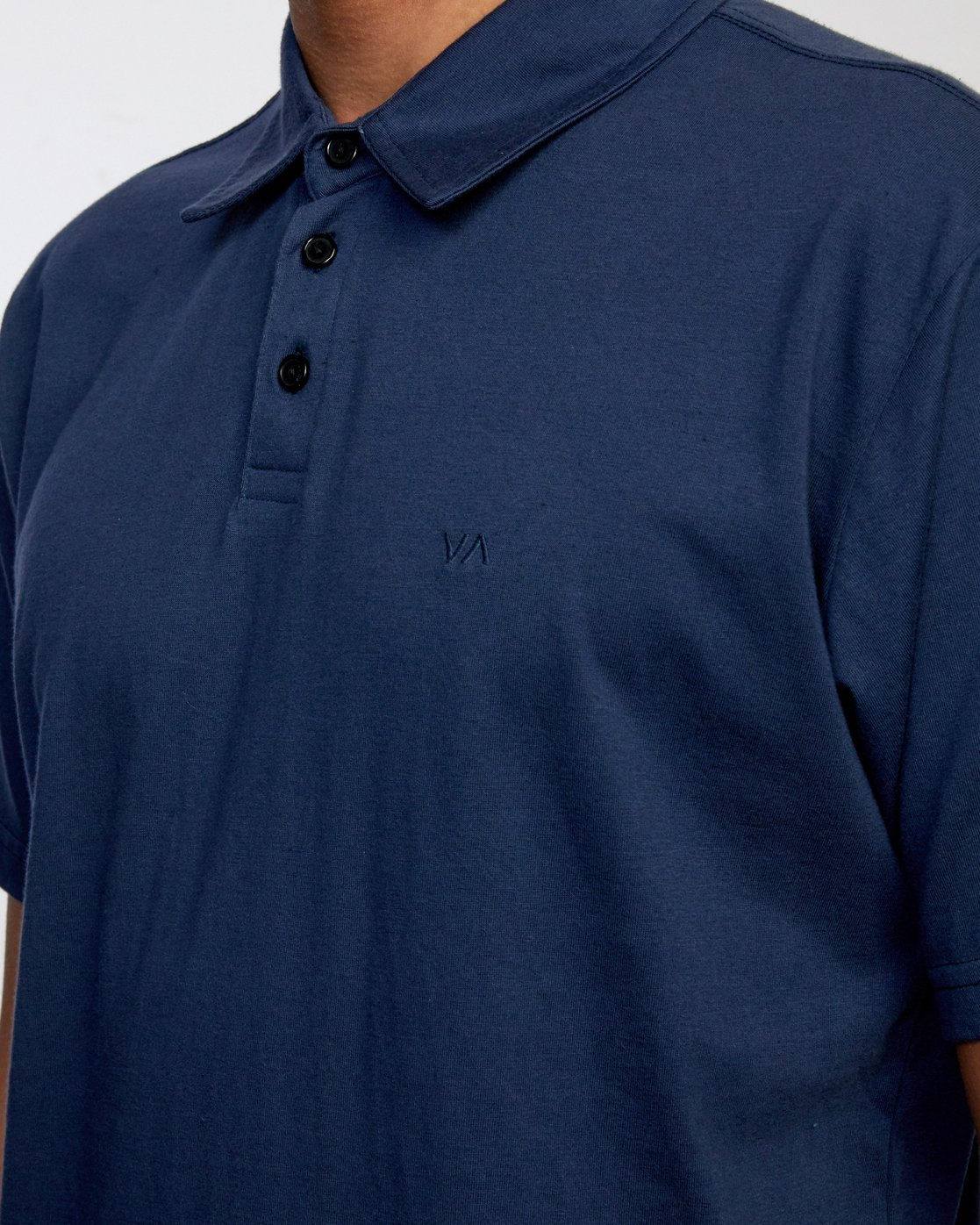 9 SURE THING III POLO SHIRT Blue M9101RST RVCA